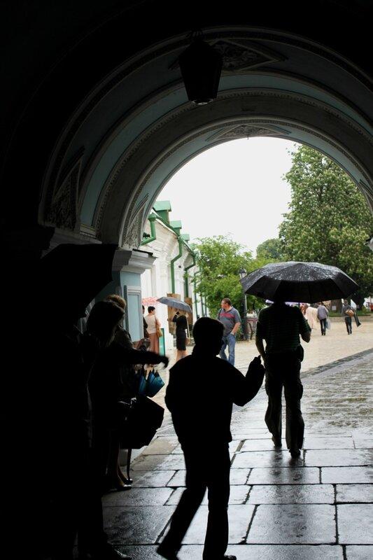 Святые врата Печерской Лавры