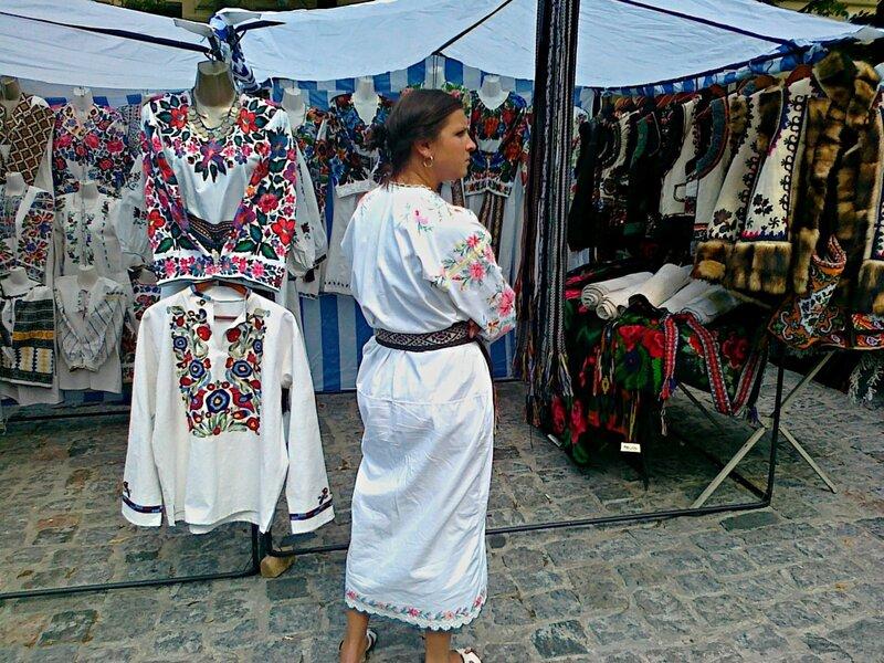 Павильон украинской народной одежды