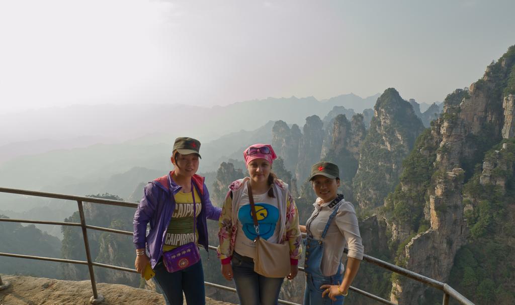 11 Фотосессия в горах Чжанцзяцзе