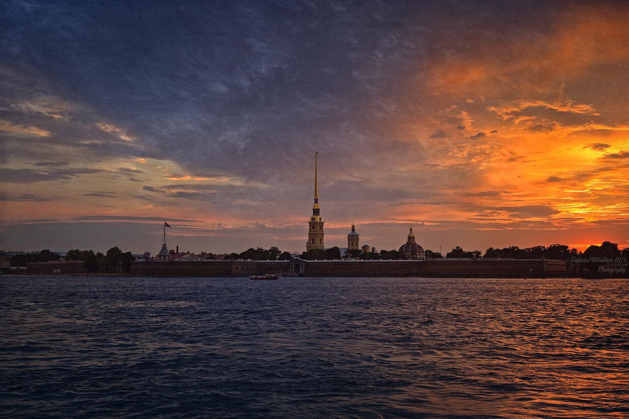 СПб закат