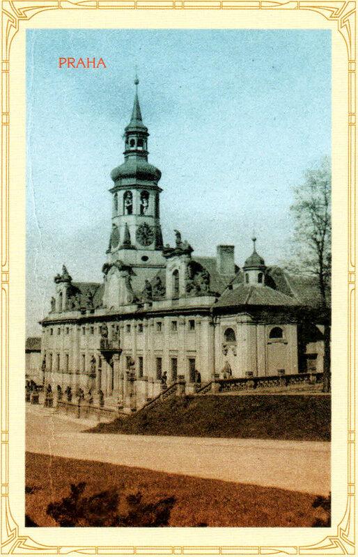 12. Градчаны — Лорета (церковь Рождества Господня). 1919 год