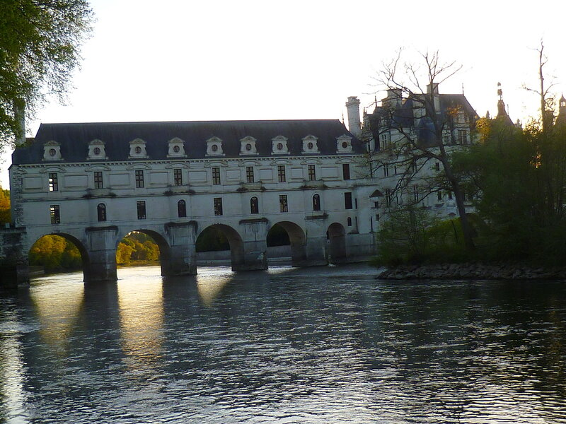 Франция, замок Шенонсо (France, castle of Chenonceau)