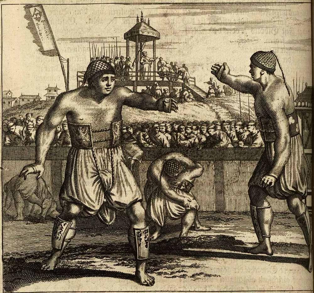 Япония глазами европейцев на гравюрах - 1670 год (4)