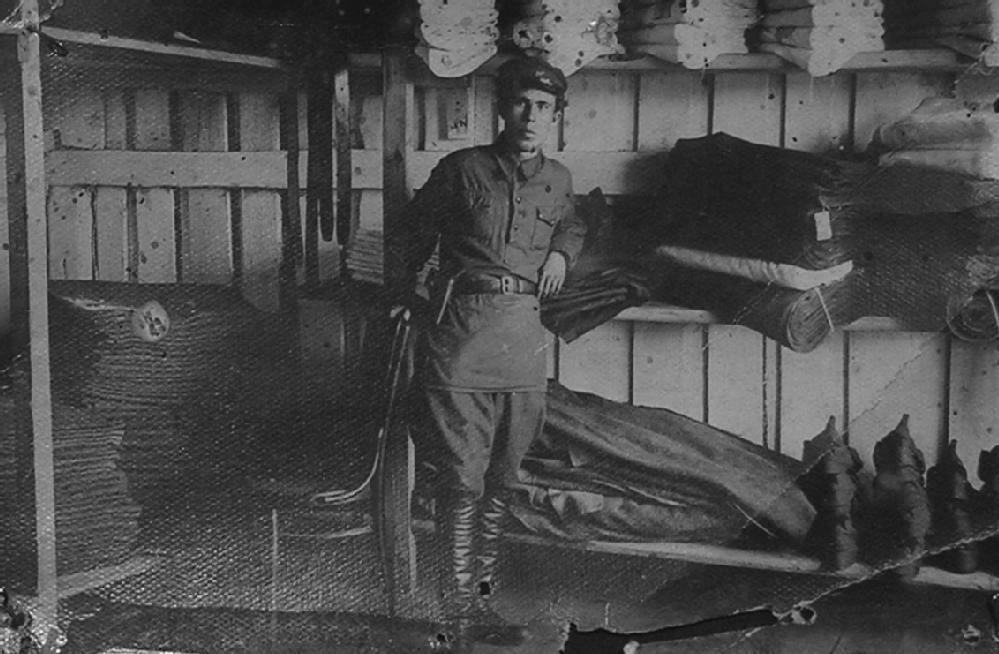 Вещевой склад отделения Сиблага. Фотография. 1930-е - 1940-е