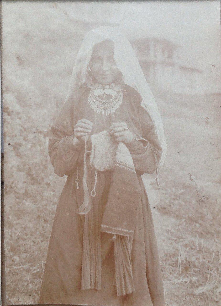 1926. Дагестан. Дидойский округ Женский костюм