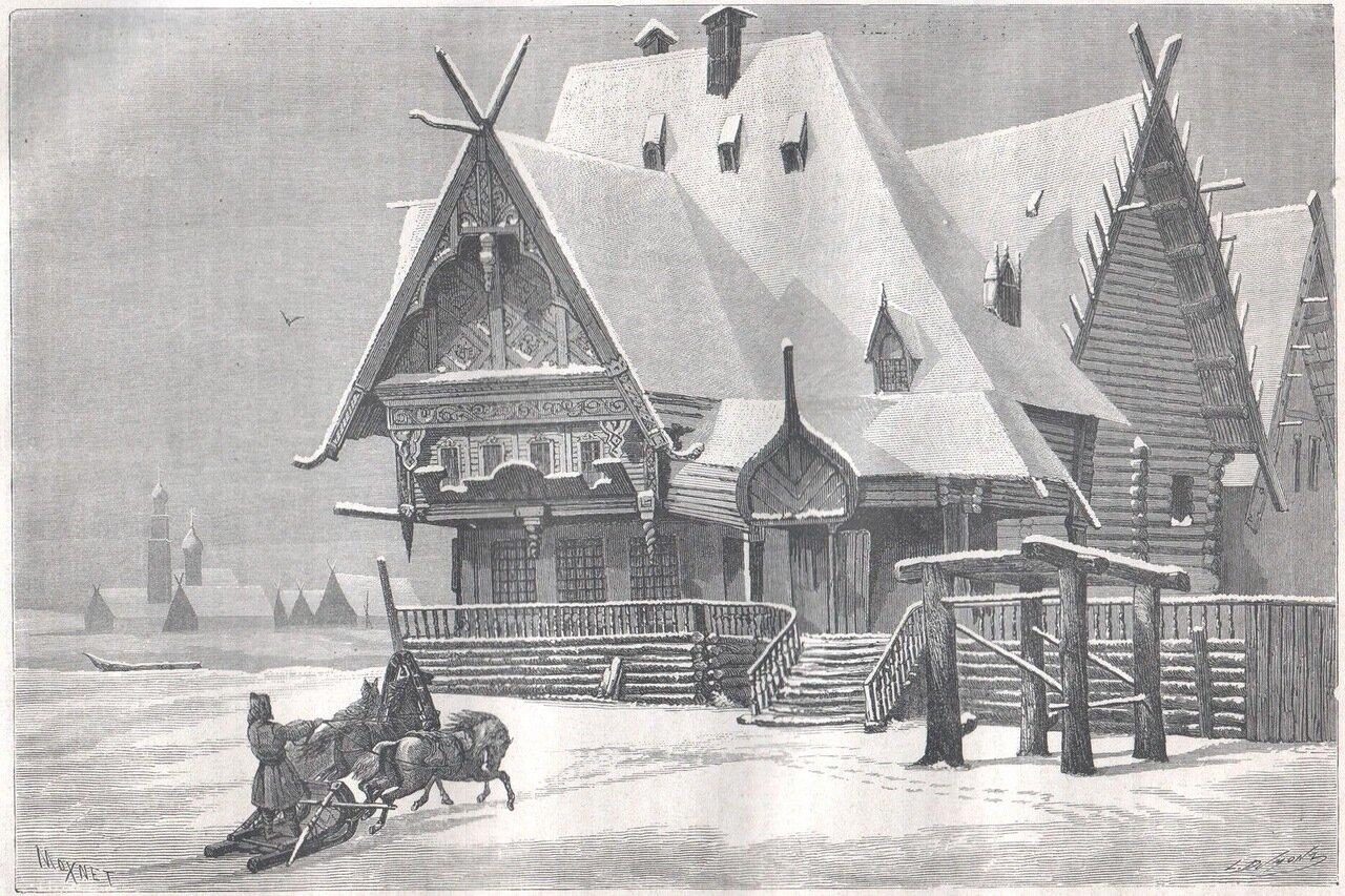 1867. Кабак на Волге между Саратовым и Костромой
