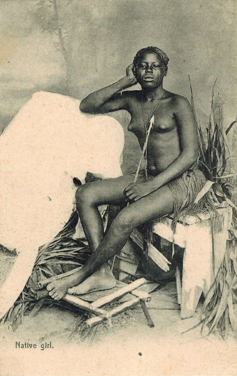 1910. Девушка из Судана