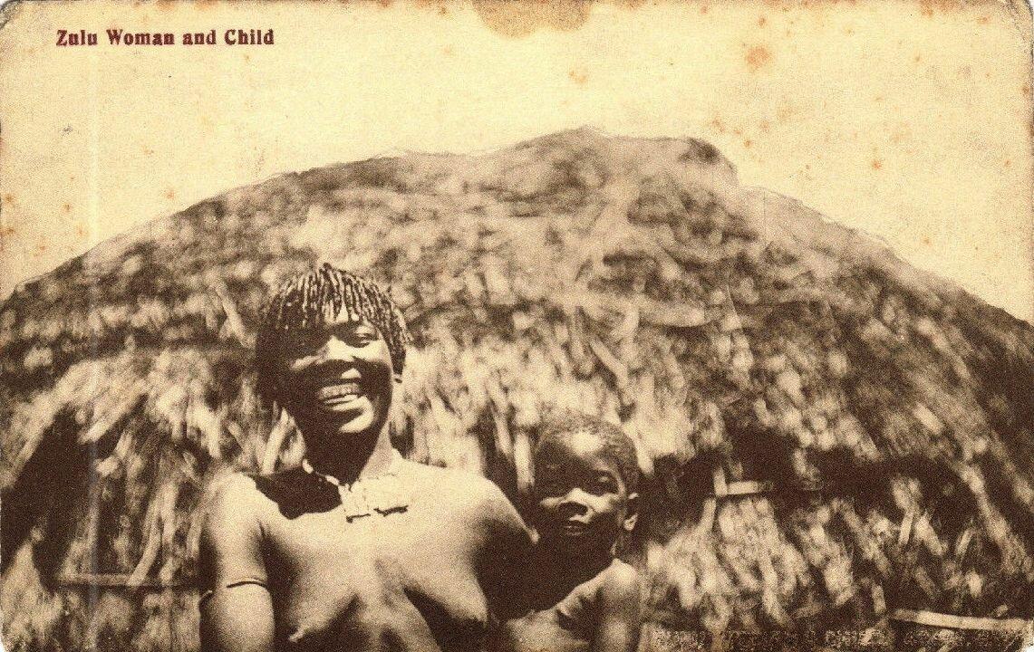 Зулуска с сыном