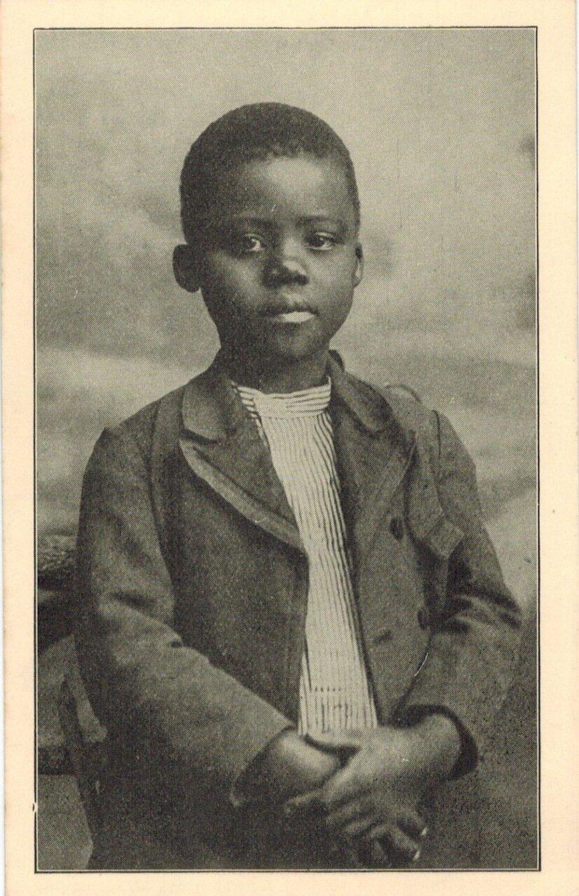 1910. Школьник из Южной Африки