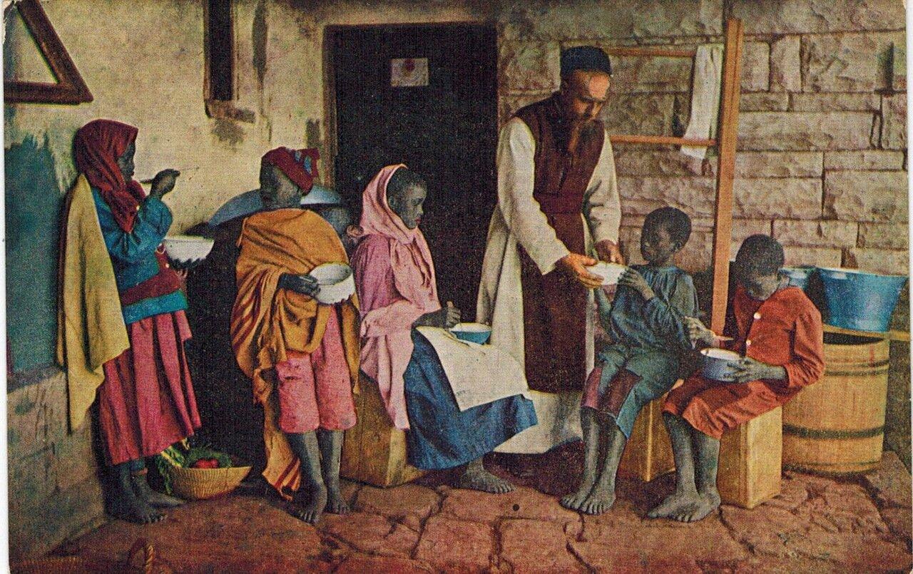 1910. Обычный день в миссии, Южная Африка