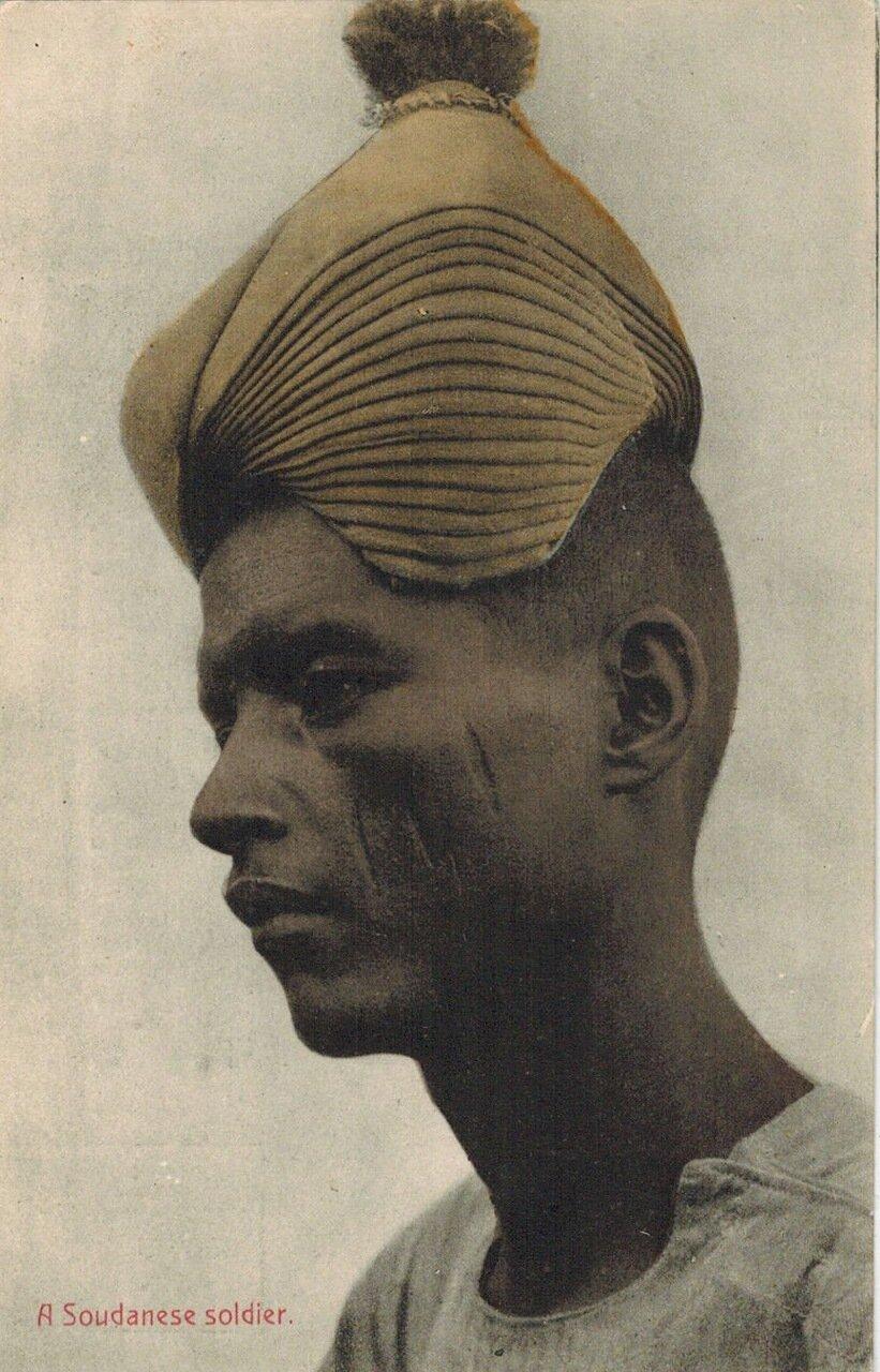 1910. Солдат из Судана