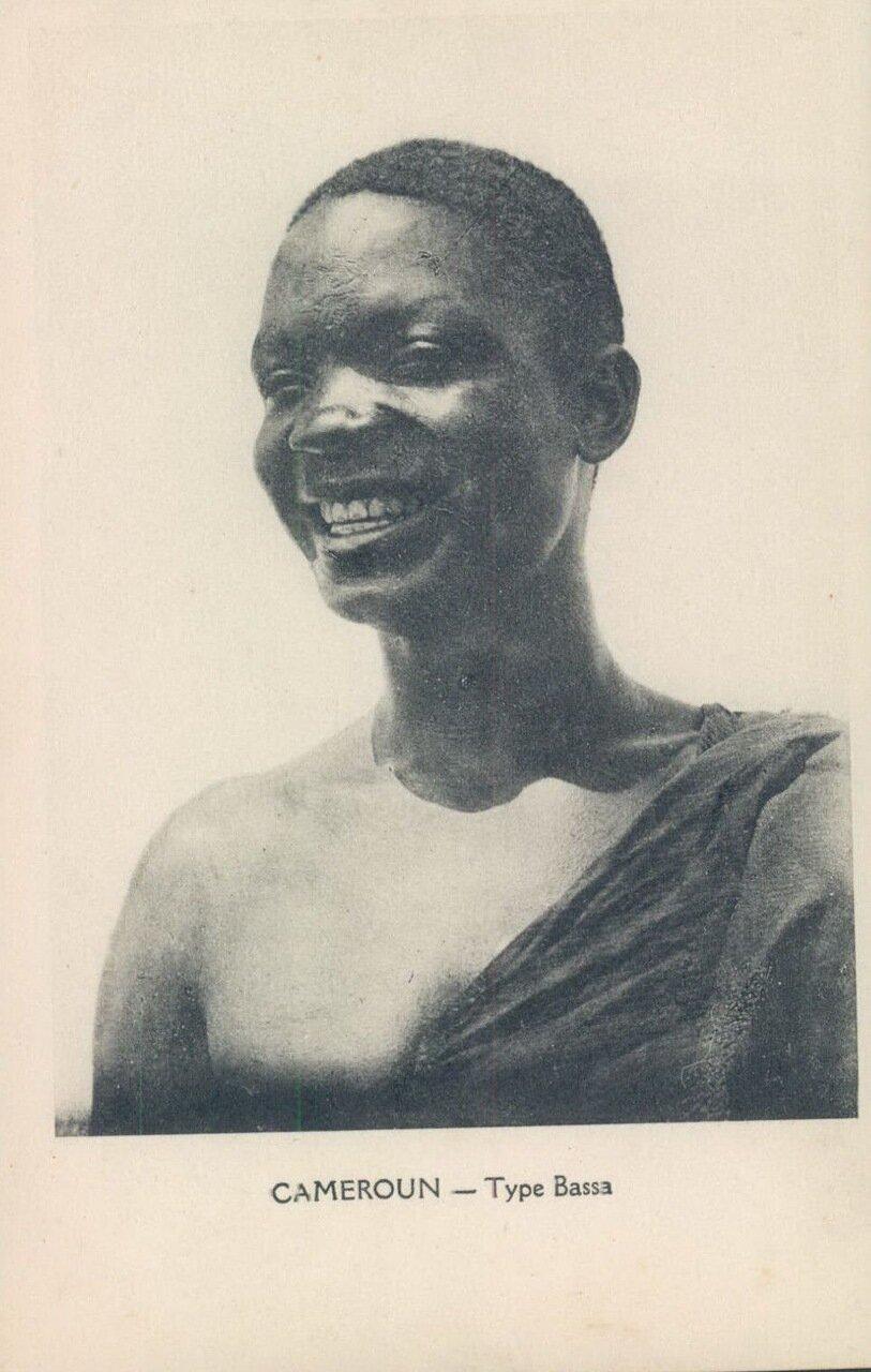 1910-е. Камерун. Тип народности Басса