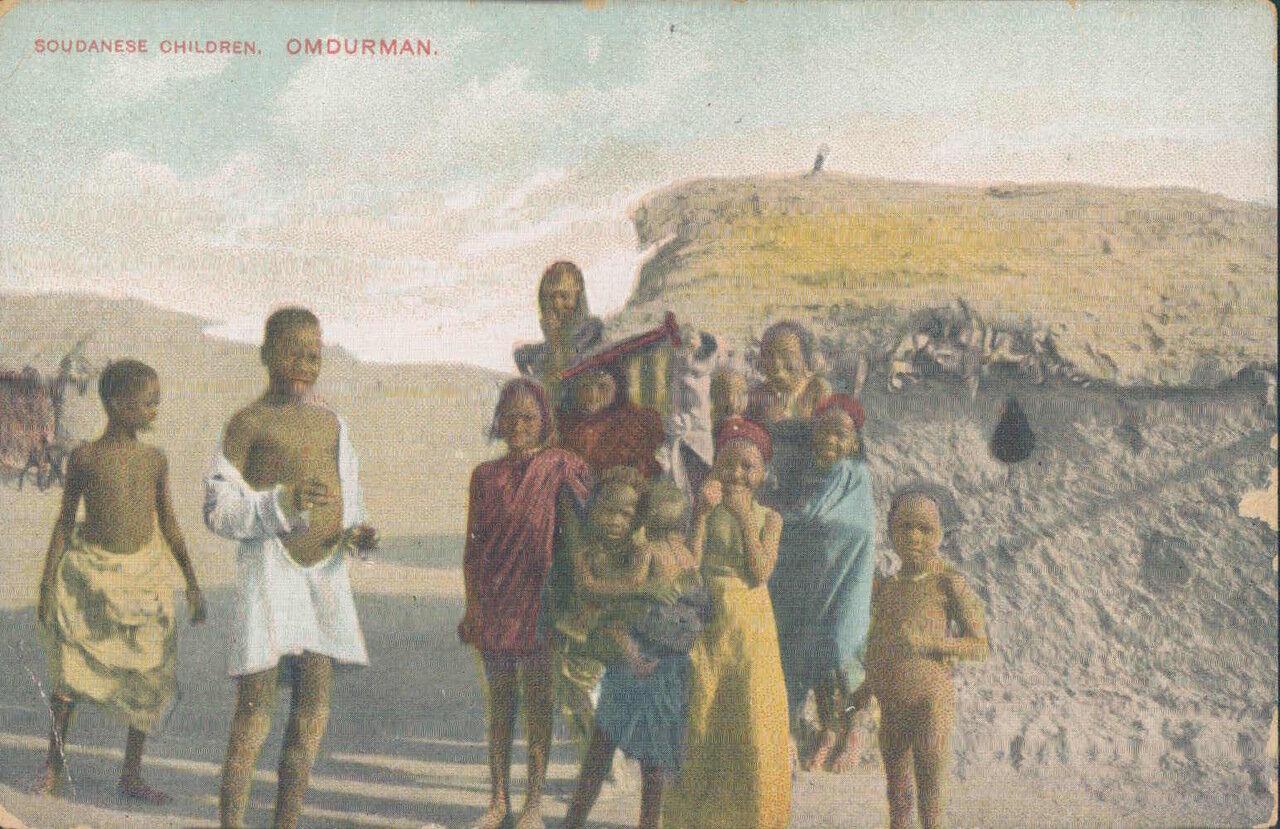1910-е. Судан. Омдурман. Суданские дети