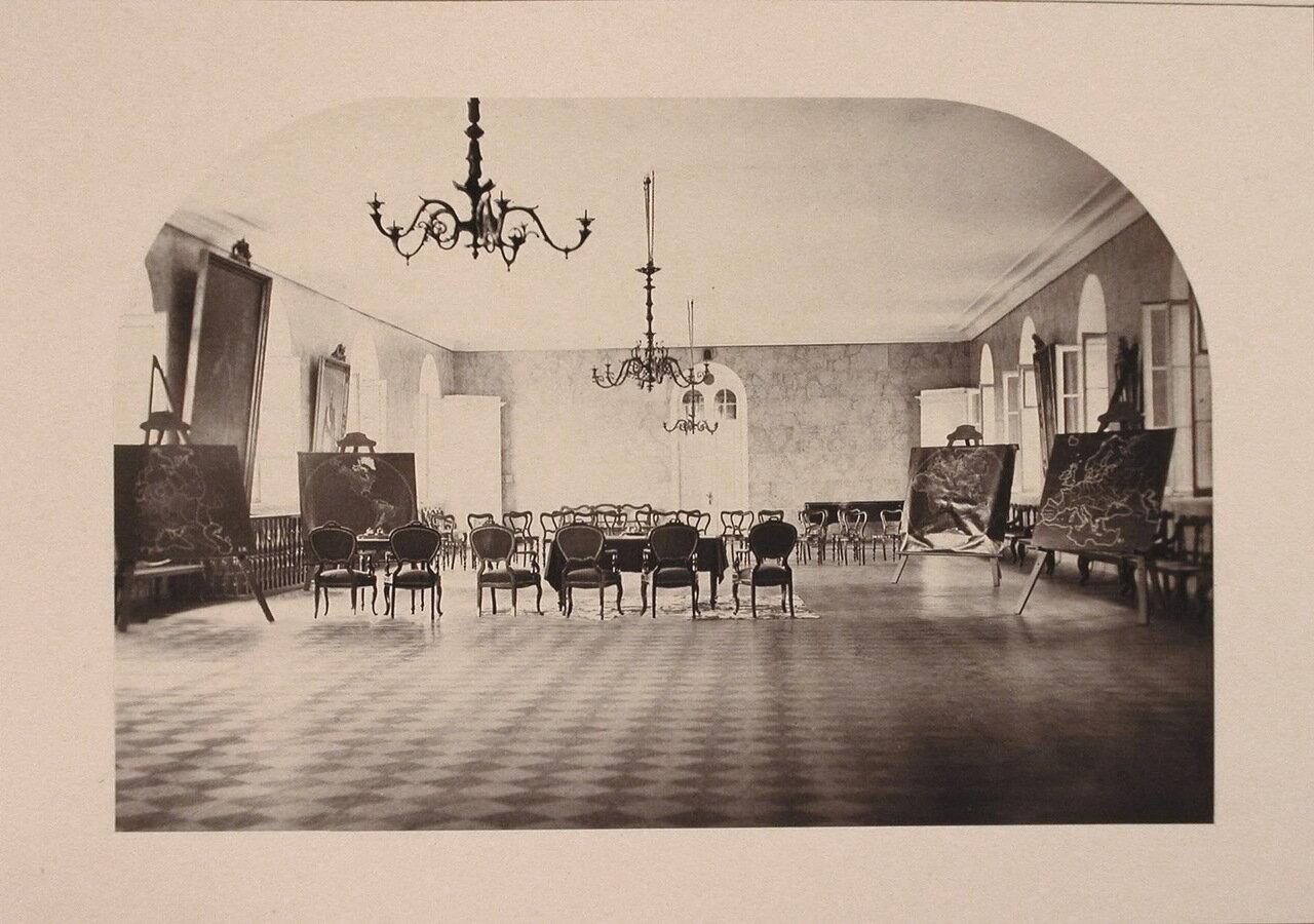 Вид части актового зала в здании института