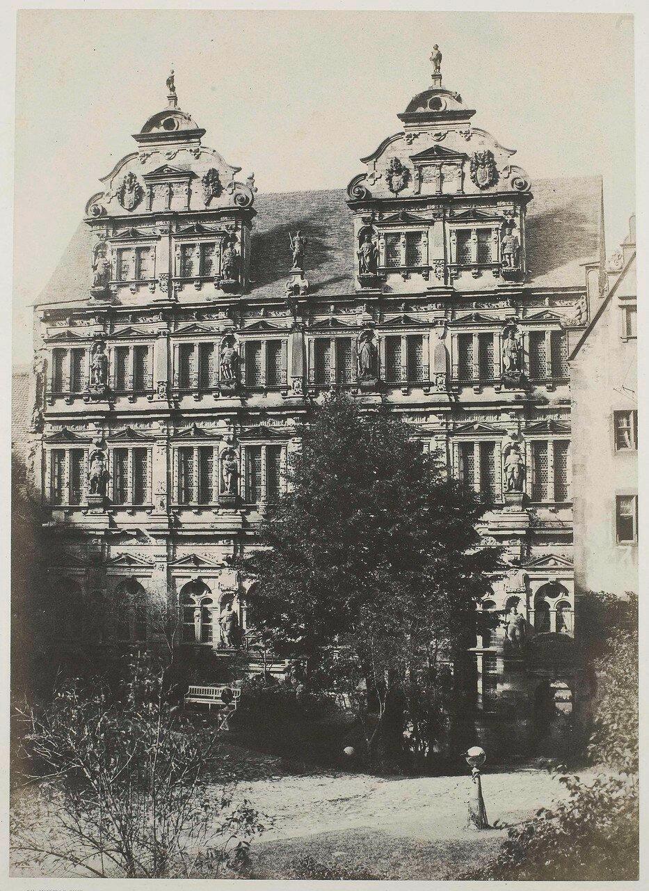 1850-е. Фасад пале де Фредерик Лесаж