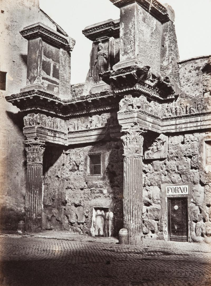 Храм Кастора и Поллукса. . 1860
