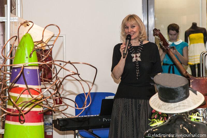 Открытие выставки Бижутерия От Винтажа до Наших Дней 2014