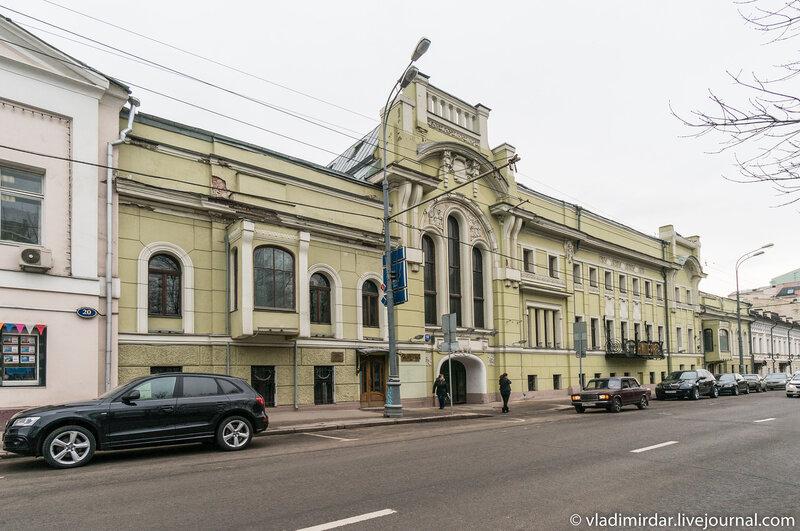 Особняк П.П. Смирнова - Тверской бульвар, 18, арх. Ф.О. Шехтель