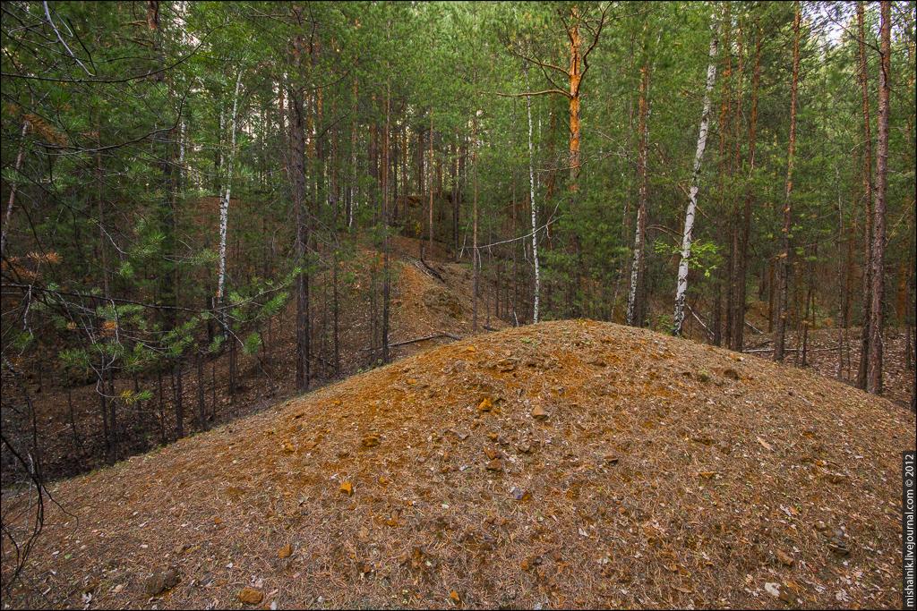 Елизаветинский рудник природно-легированных железных руд. Поселок Рудный