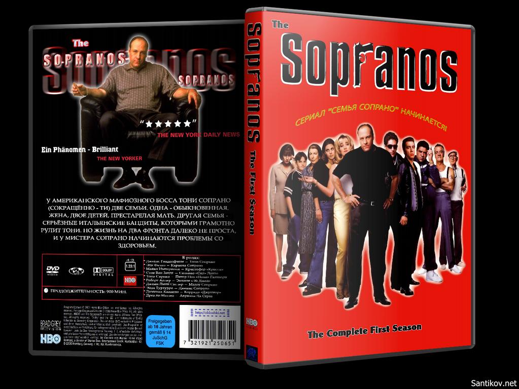 Клан Сопрано / The Sopranos (1999/DVDRip-AVC) [1-6 сезоны] (FOX Crime)