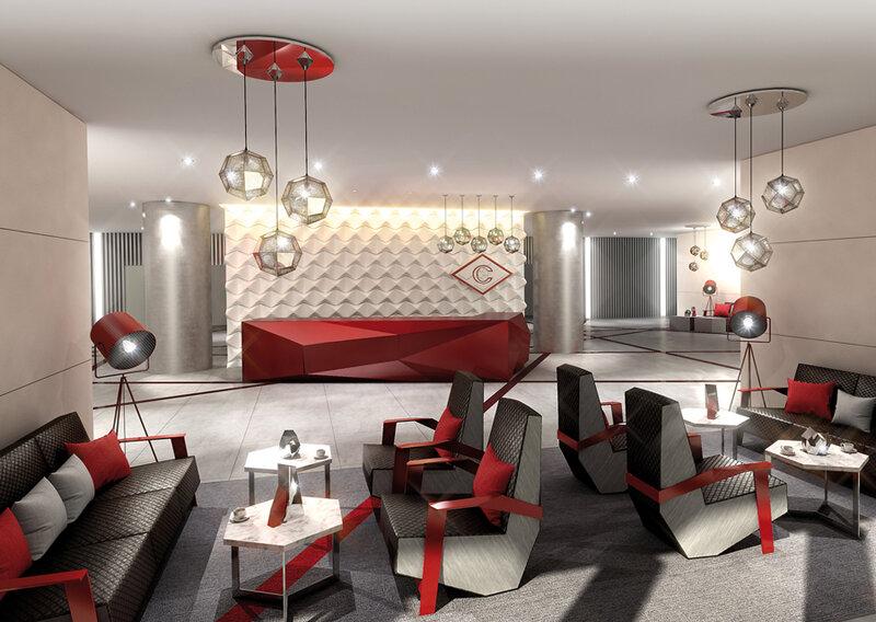Дизайн внутренних VIP помещений стадиона «Спартака» - «Открытие Арены» (Фото)