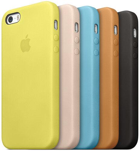 Кожаная накладка для iPhone 5 5s купить киев