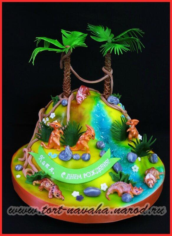 Летние торты к дню рождения фото 11