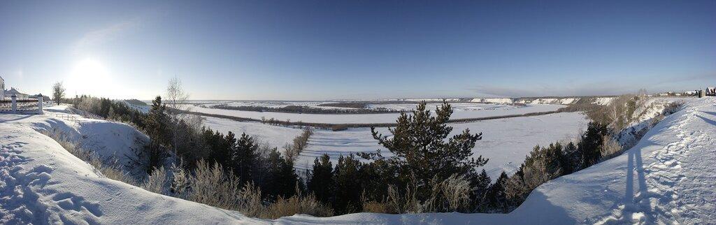 Тобольск, Абалак, панорамы
