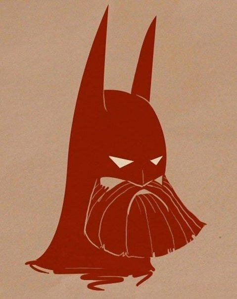 Иллюстратор Vanja Mrgan представил, как бы телегерои выглядели с бородой