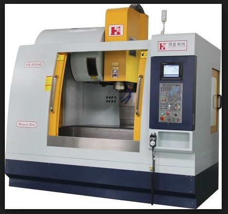 Vertical milling machine CNC