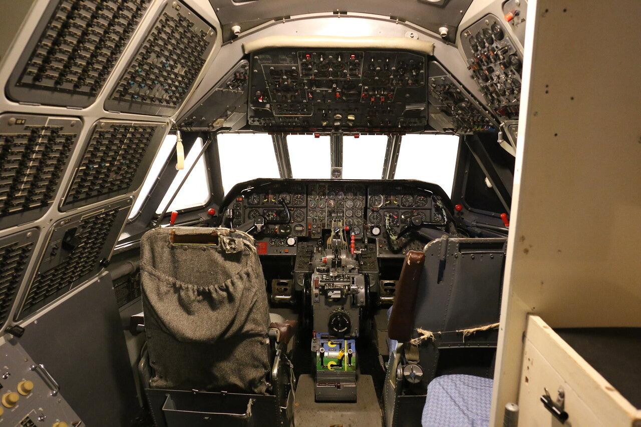 Авиамузей Хельсинки-Вантаа. тренажер SE-210 Caravelle