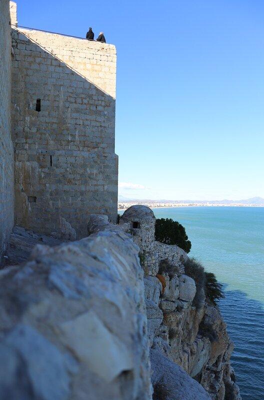 Пеньискола, Замок Папы Луны. Peniscola, Castell del Papa Luna, Castillo de Peñiscola