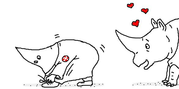 Чёрный юмор и сатира в рисунках