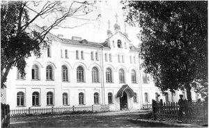 Архангельск. Здание Духовной семинарии. 12 июня 1914 г.