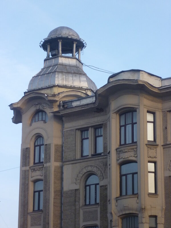 Садовая-Кудринская улица. улица Спиридоновка, 27/24.