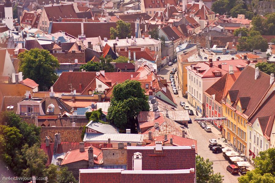 Эстония, Таллин, Вид на Таллин, Старый город Таллина