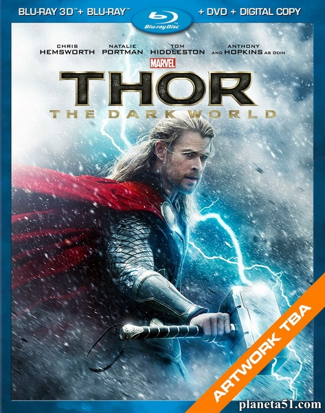 Тор 2: Царство тьмы / Thor: The Dark World (2013/BD-Remux/BDRip/HDRip/3D) [Лицензия]