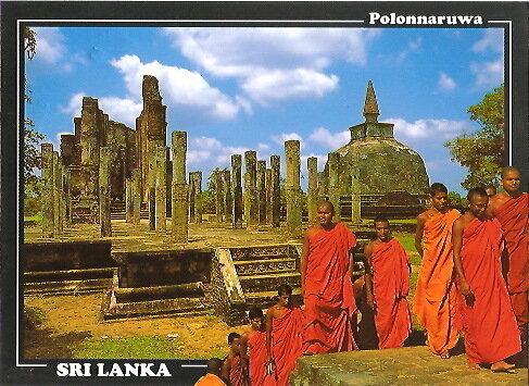Открытка со Шри-Ланки