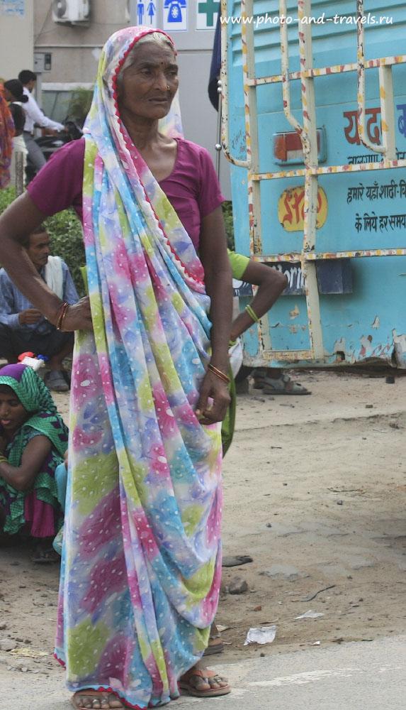 Фотография 4. Женщины Индию любят краски.