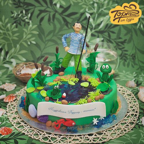 Торт на день рождения дедушки своими руками 98