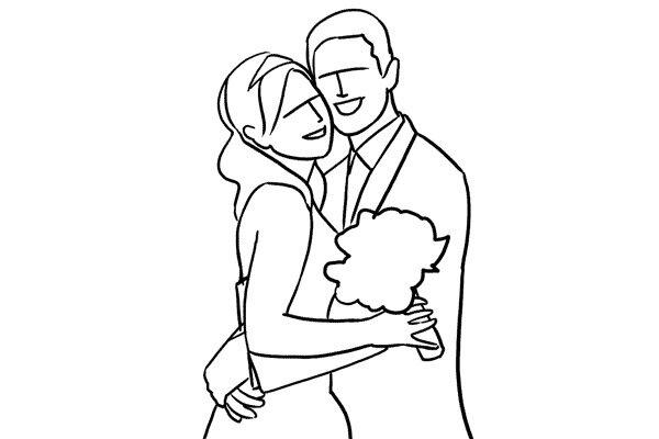 Позирование: позы для свадебной фотографии 4