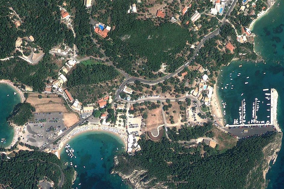 Скриншот из программы Google Earth