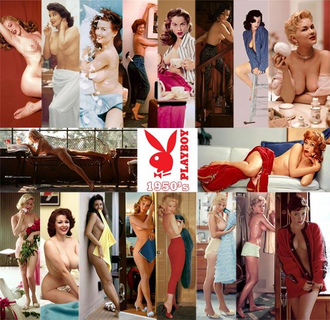 Playboy Playmates (1953-1959)