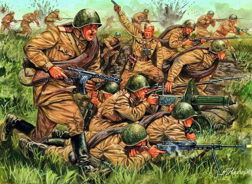 Пехота Советской Армии (Giuseppe Rava)