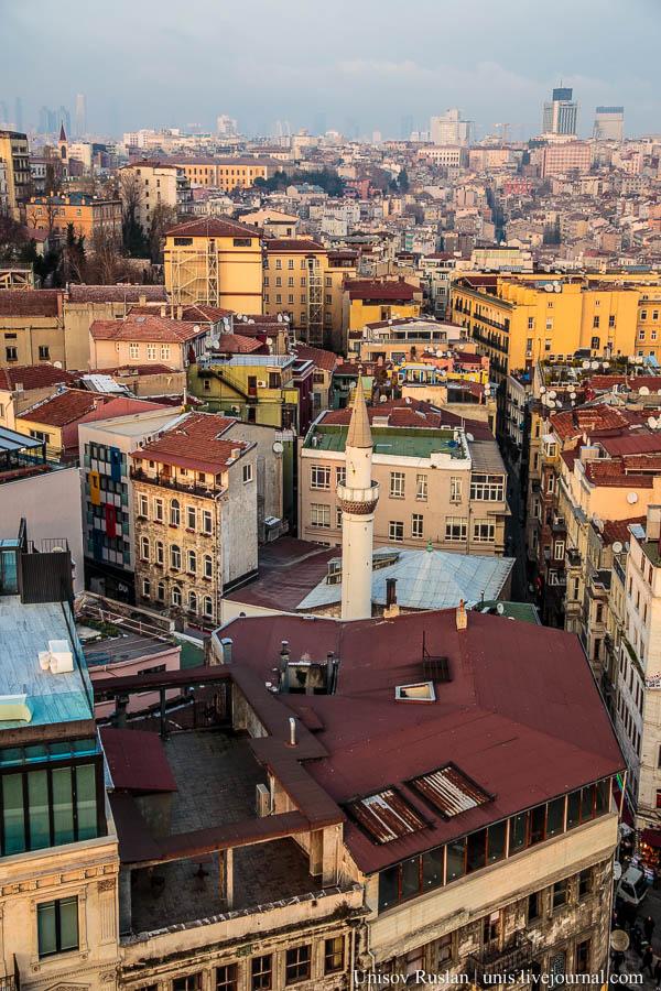 Стамбул и Галатская башня