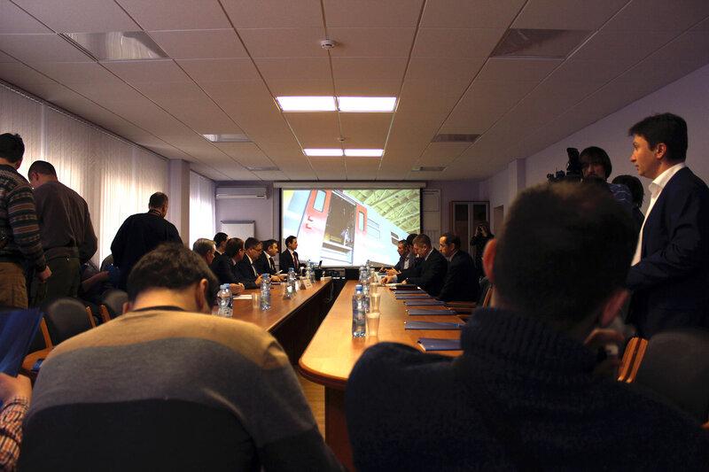 Пресс-конференция на ДМЗ