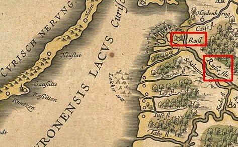Ливония 1650