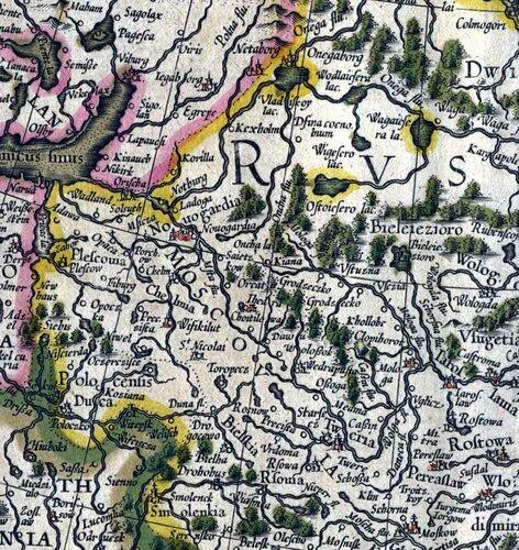 Московия 1613 г.
