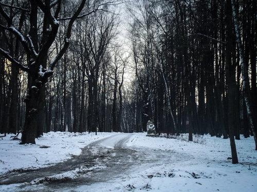 Зимняя распутица и снежная грусть
