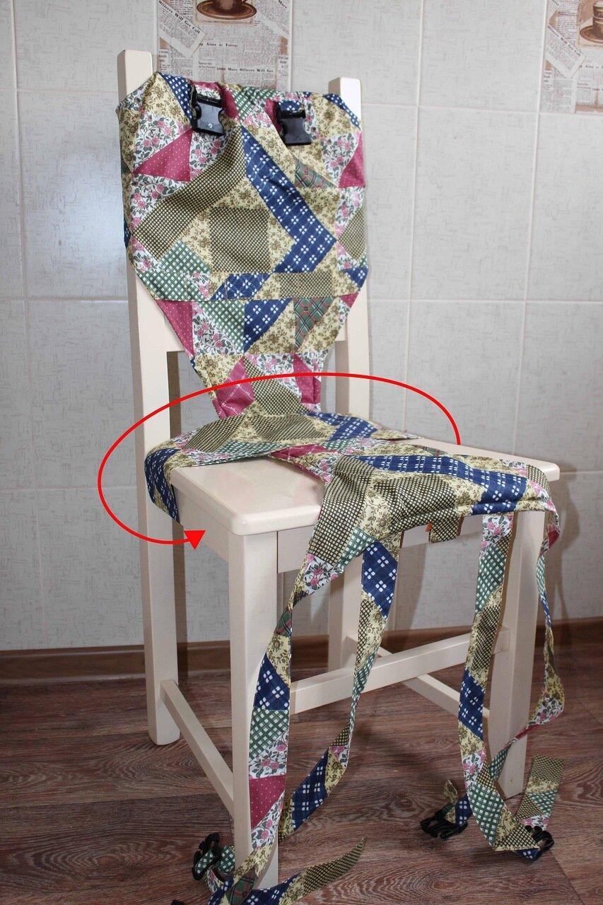 Как сшить дорожный детский стульчик фото 129